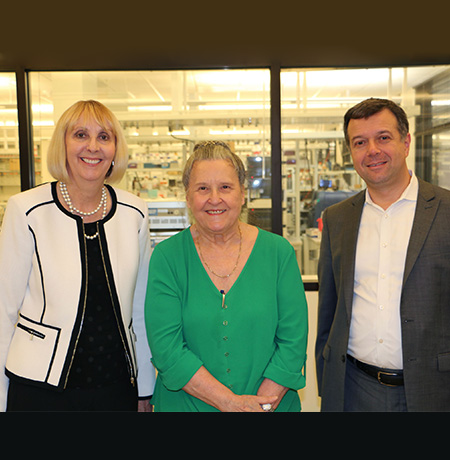 Wisdom Family Foundation Makes Gift Toward Translational Research