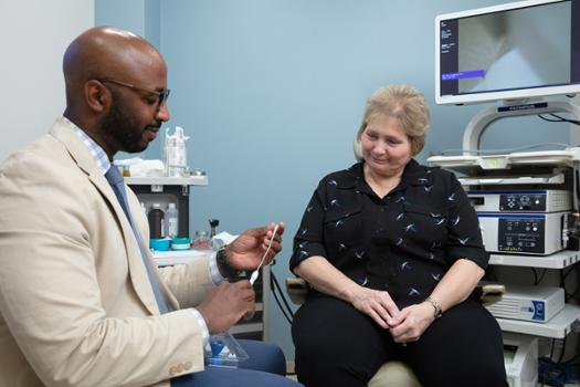 Cutting-edge, non-surgical treatment at OU Medicine targets chronic stuffy nose